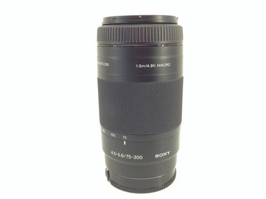 objetivo sony sony 75-300mm f/4.5-5.6 sal75300