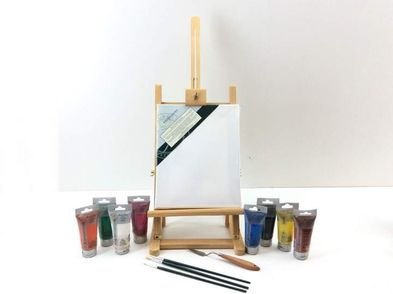 otras pintura madera de mesa