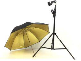 otro material estudio otros tripode + paraguas fotografico