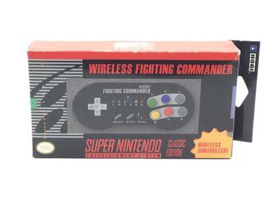 otros accesorios nintendo otros wireless fighting commander