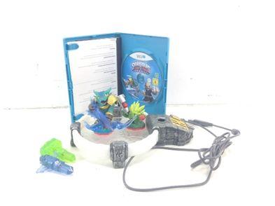 otros accesorios wii u nintendo pack skylanders trap team+muñecos