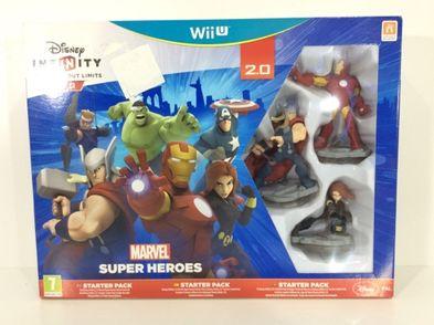 otros accesorios wii u nintendo infinity  super heroes