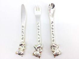 outros bebé outro twinkle twinkle 3pc cutlery set cg310