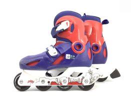 patines oxelo azul y rojo