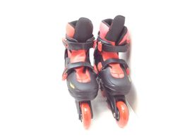 patins outro speed wheels + capacete e proteã‡oes