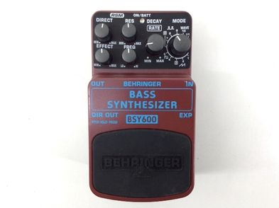 pedal efectos behringer bass synthesizer