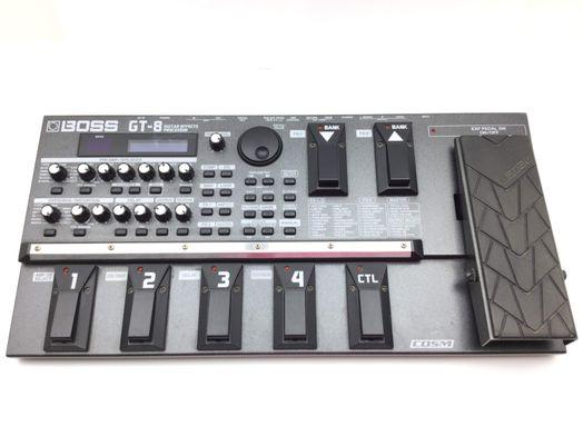 pedal multiefectos de guitarra boss gt-8 guitar effects processor