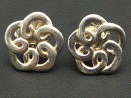 pendientes plata primera ley (plata 925mm con piedra)