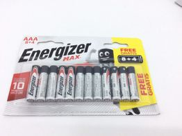 pilas desechables energizer 8+4 aaa
