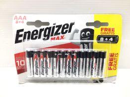 pilas desechables energizer 8+4