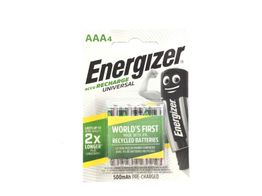 pilas recargables energizer aaa-hr03 recargable
