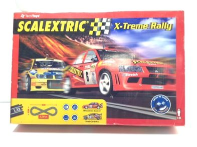 pista slot scalextric x-treme rally