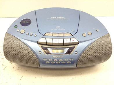 radio cd cassette sony cfd-525ol