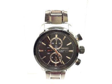 relogio pulseira homem seiko chronograph