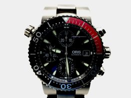 reloj alta gama caballero oris 7542p