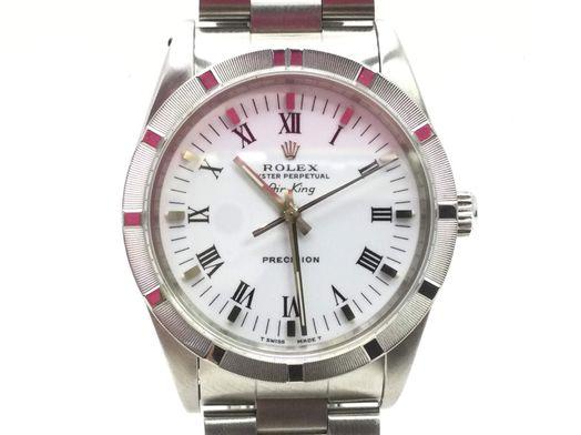 reloj alta gama caballero rolex 14010  air king oyster perpetual precision