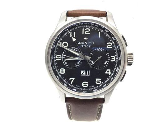 reloj alta gama caballero zenith pilot el primero big date special