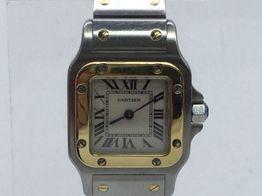 reloj alta gama señora cartier santos galbee 1567