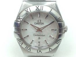 reloj alta gama señora omega constellation quartz