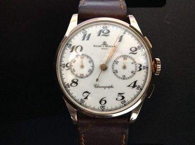 reloj de oro baume&mercier 132