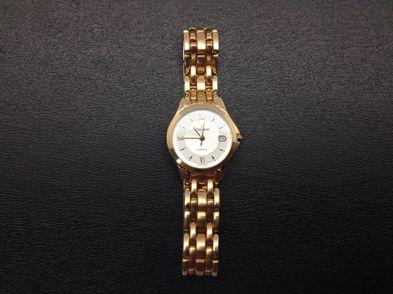 reloj de oro bulova c-150