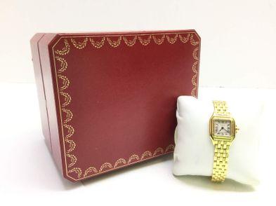 reloj de oro cartier panthere