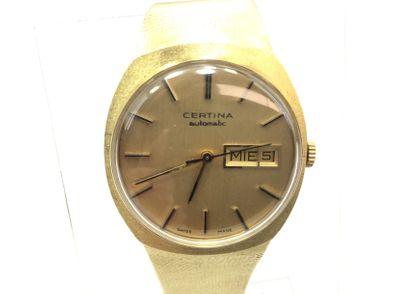 reloj de oro certina automatic