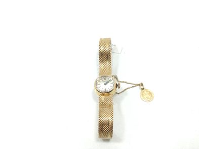 reloj de oro certina reloj pulsera señora 14kt