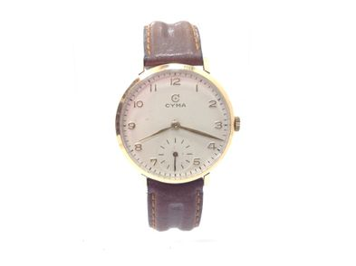 reloj de oro cyma sin modelo/clasico