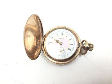 reloj de oro elgin -