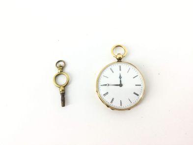 reloj de oro otros de bolsillo con llave