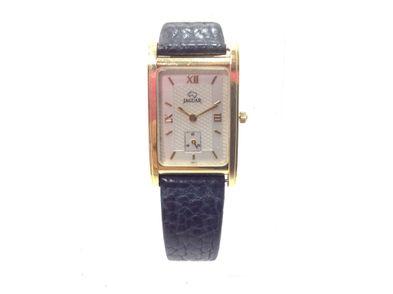 reloj de oro jaguar j571-109
