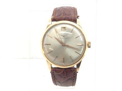 reloj de oro longines automatic dial