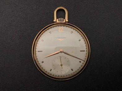 reloj de oro longines cuerda