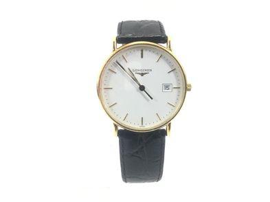 reloj de oro longines l47436 gold classic