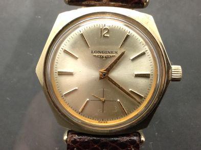 reloj de oro longines octogonal