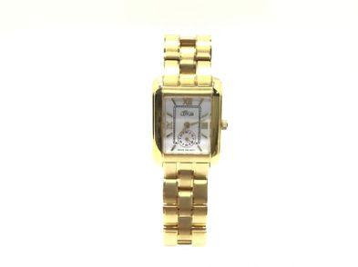 reloj de oro lotus l417-e64d