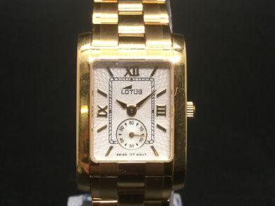 reloj de oro lotus l426-d104