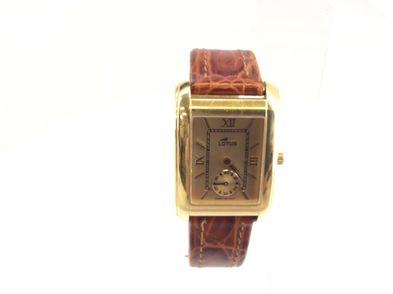 reloj de oro lotus l467-b46a