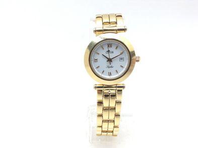 reloj de oro lotus saphir l552-122 (caja 30 mm pulsera 14.5 cm)
