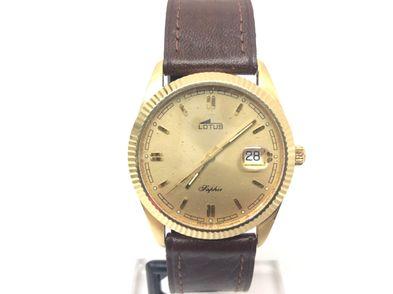 reloj de oro lotus l557-805b
