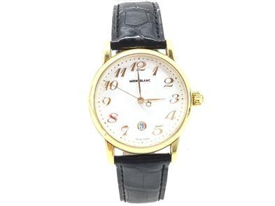 reloj de oro montblanc meisterstuck cc 19086 7008