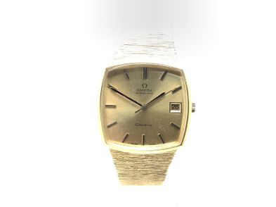 reloj de oro omega automatic