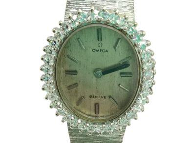 reloj de oro omega geneve