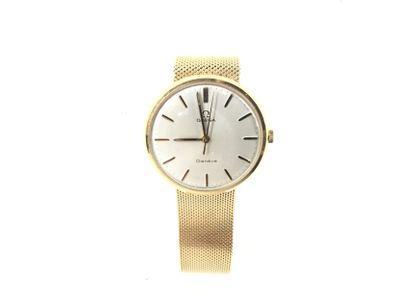 reloj de oro omega no