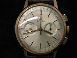 reloj de oro omega omega de ville 101.009 chronograph caliber 320