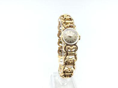 reloj de oro omega oro 18k cuerda