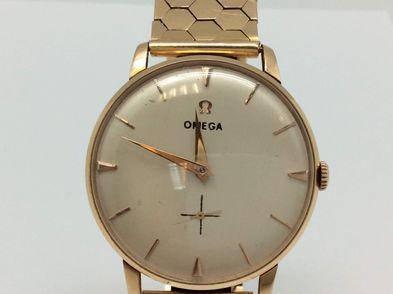 reloj de oro omega oro 18k