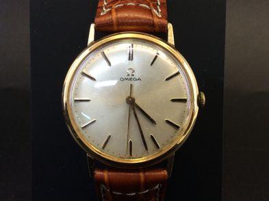 reloj de oro omega sin modelo