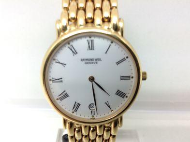 reloj de oro raymond weil n